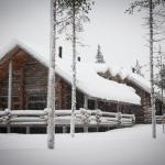 Vuokramökki Ylläkseltä talvella